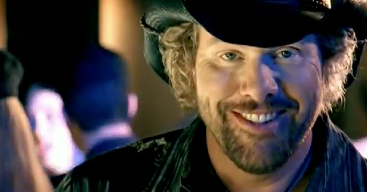 Toby Keith, country, as good as I once was
