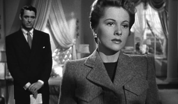 movies, suspicion, joan fontaine, Cary Grant