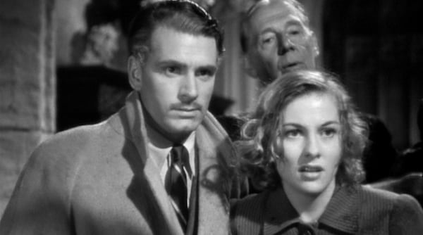 movies, rebecca, joan fontaine, Laurence Olivier