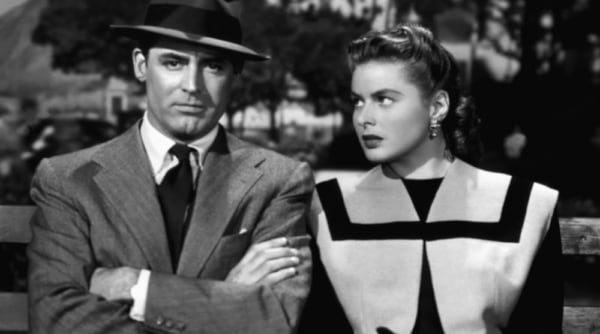 movies, notorious, Cary Grant, Ingrid Bergman