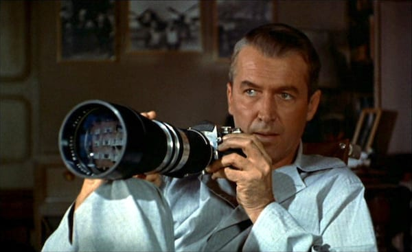 movies, Rear Window, James Stewart