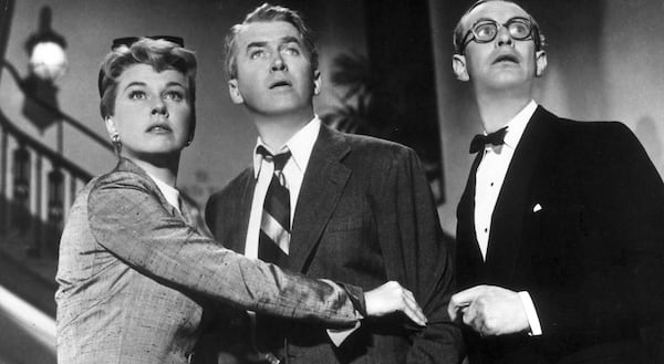 movies, the man who knew too much, doris day, James Stewart