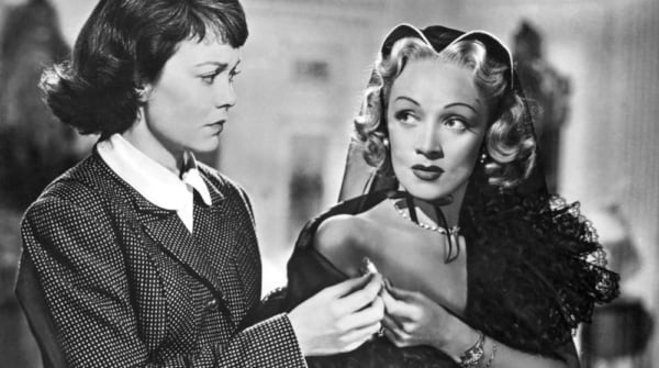 movies, stage fright, Marlene Dietrich, jane wyman