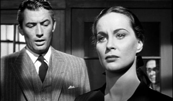movies, the paradine case, Gregory Peck