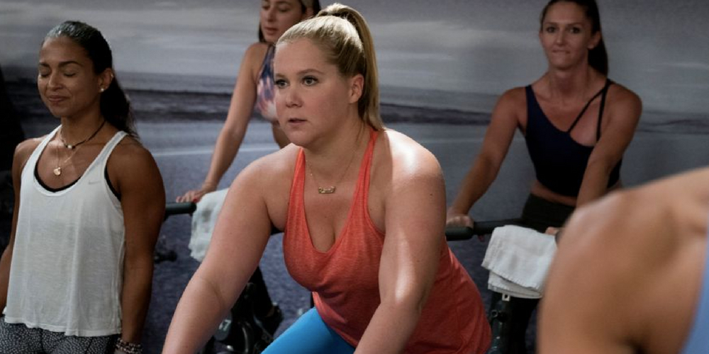 best gym instagram captions, amy schumer, I feel pretty, exercise, workout, gym, soulcycle
