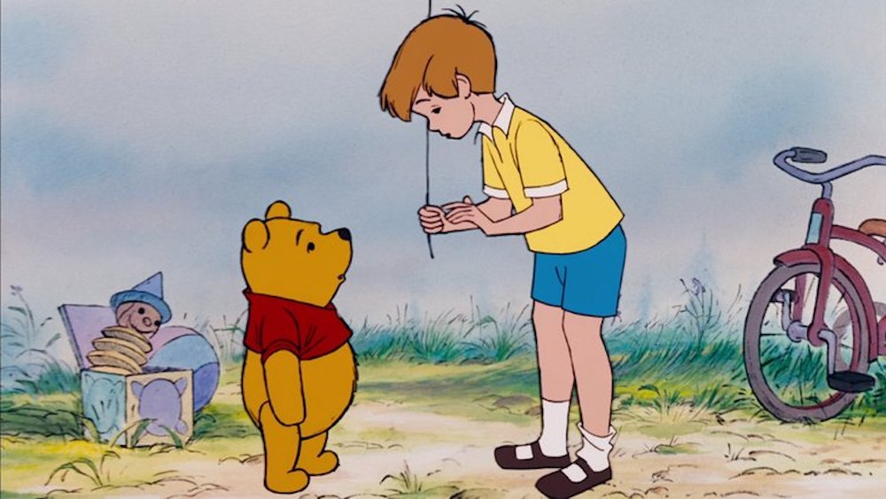 movies, Disney, the many adventures of winnie the pooh, winnie the pooh, christopher robin