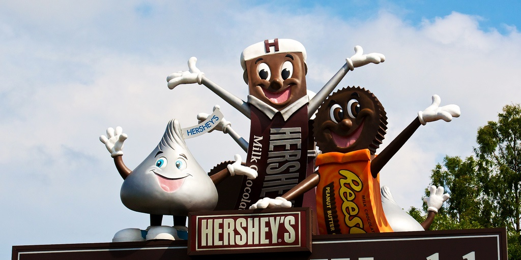 Hershey Park statues., science & tech, travel