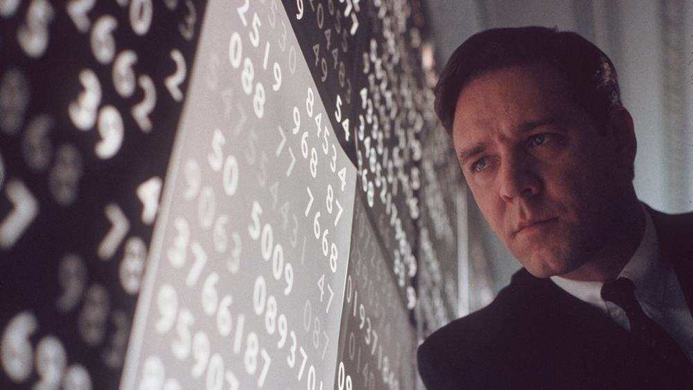 movies, A Beautiful Mind, Russell Crowe