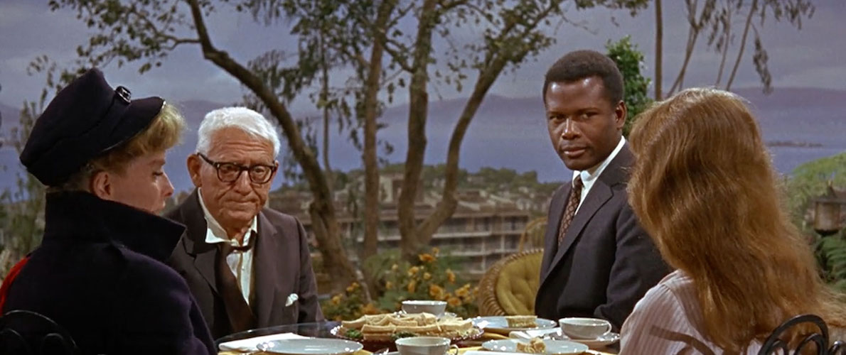 movies, guess whos coming to dinner, Spencer Tracy, Katharine Hepburn, sidney poitier
