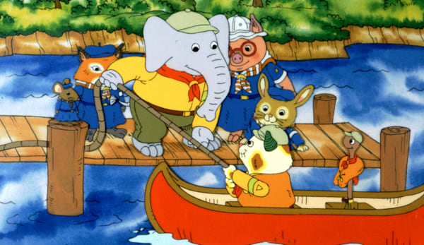 tv, the busy world of richard scarry