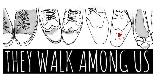 They Walk Among Us banner., pop culture