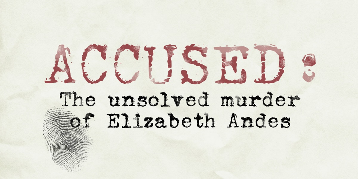 Accused banner., pop culture