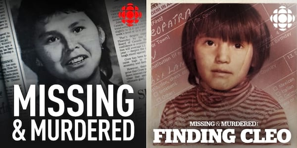 Missing and Murdered banner., pop culture