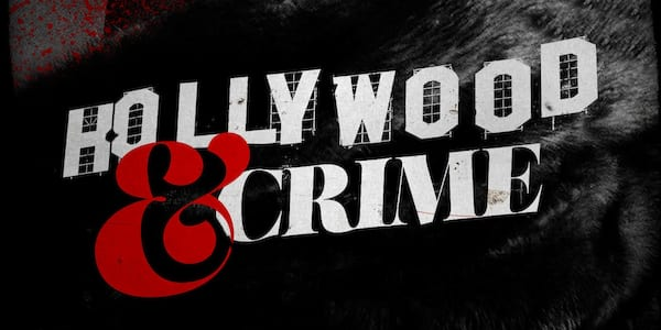 Hollywood and Crime banner., pop culture