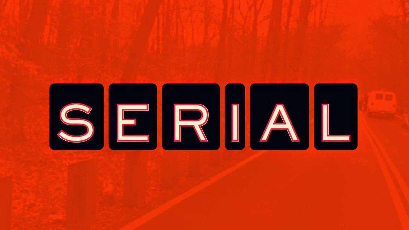 Serial podcast banner, pop culture
