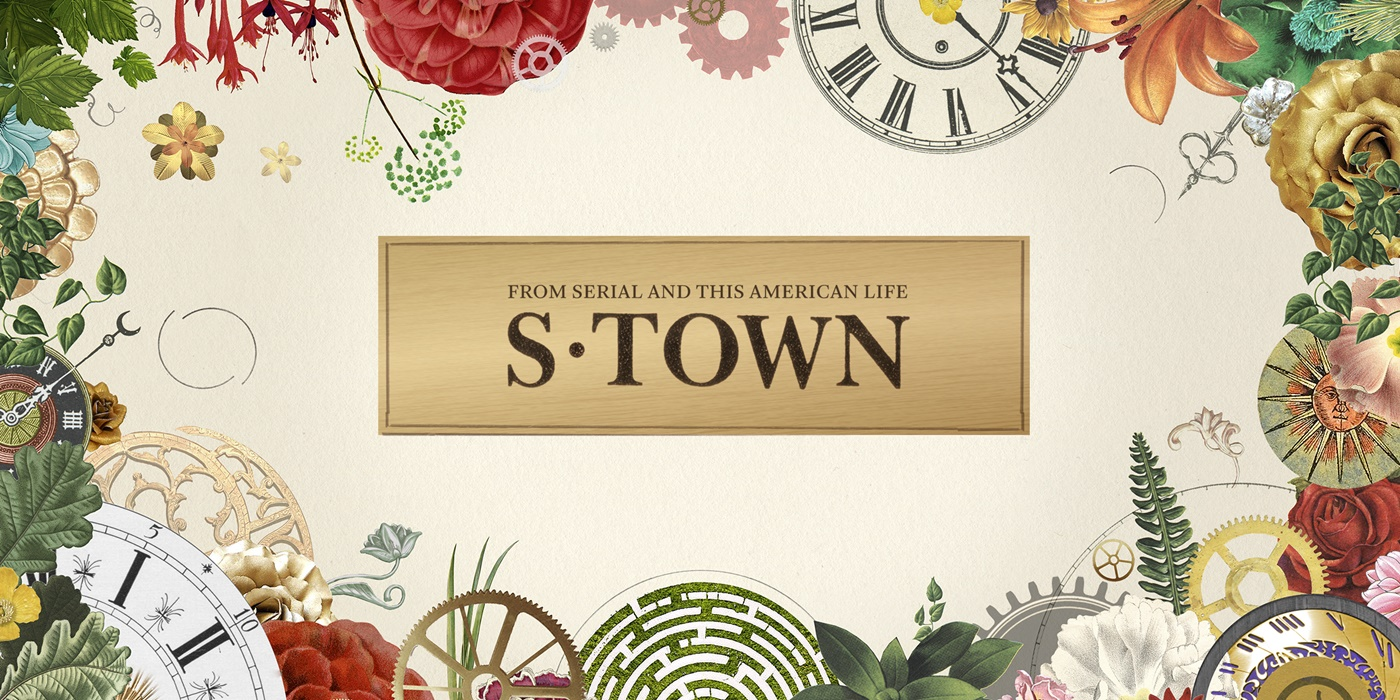 S-Town podcast banner., pop culture