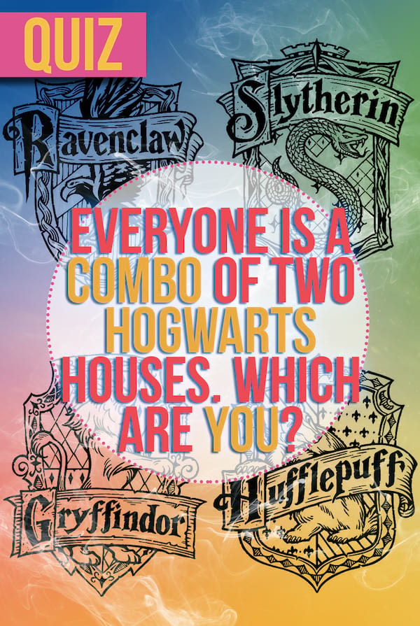 Which harry potter house are you in