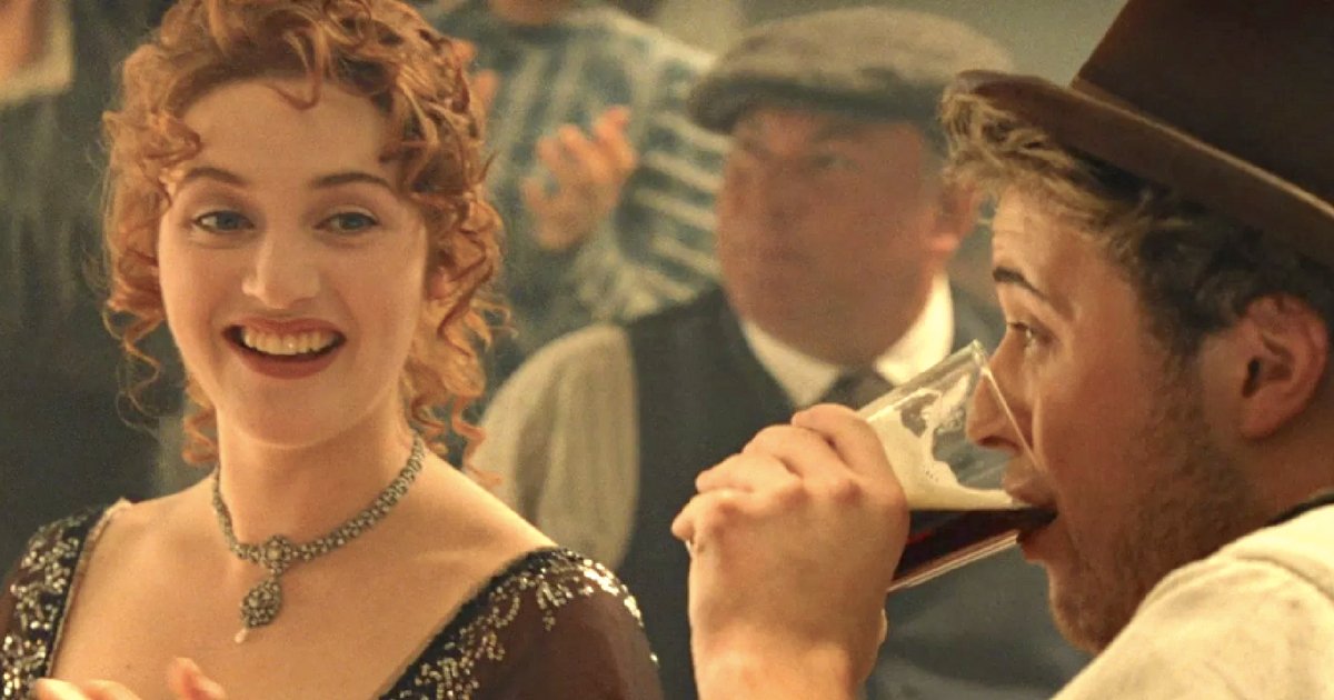 kate winslet, titanic, happy, beer, beer instagram captions