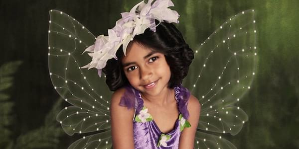A young fairy girl smiling., science & tech, pop culture