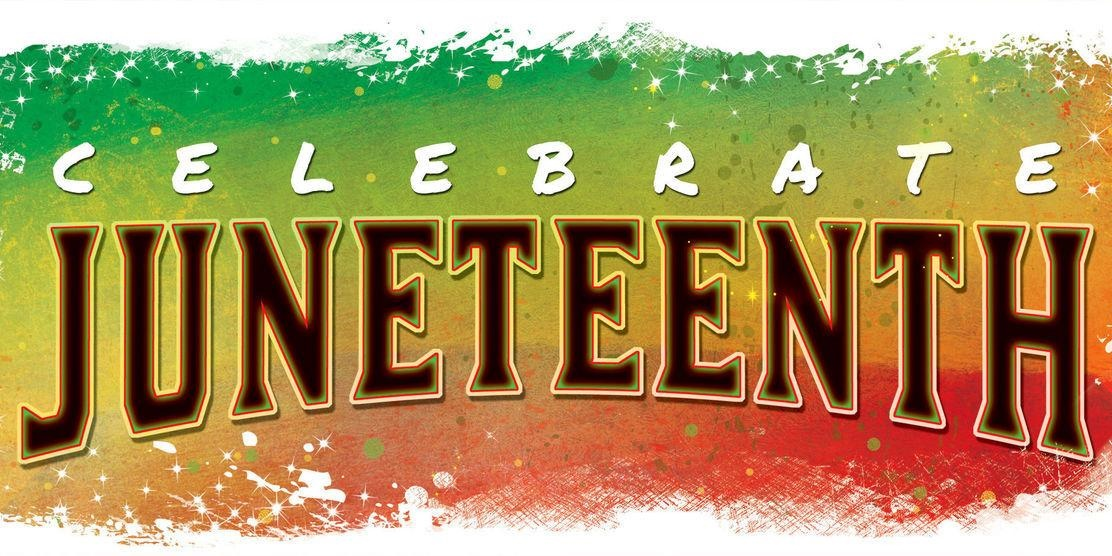 \celebrate juneteenth\ sign., science & tech, culture