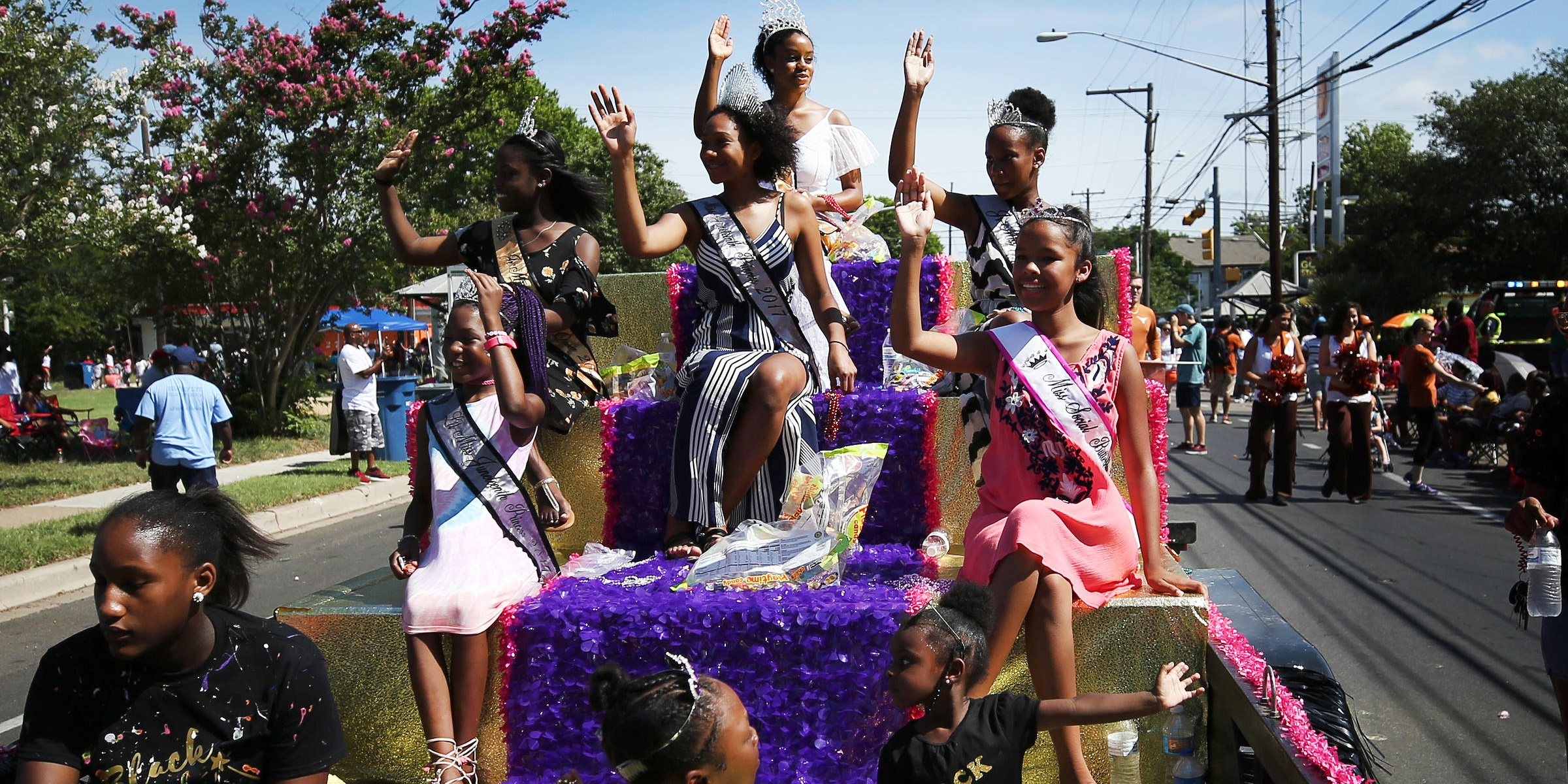 Juneteenth parade., science & tech, culture