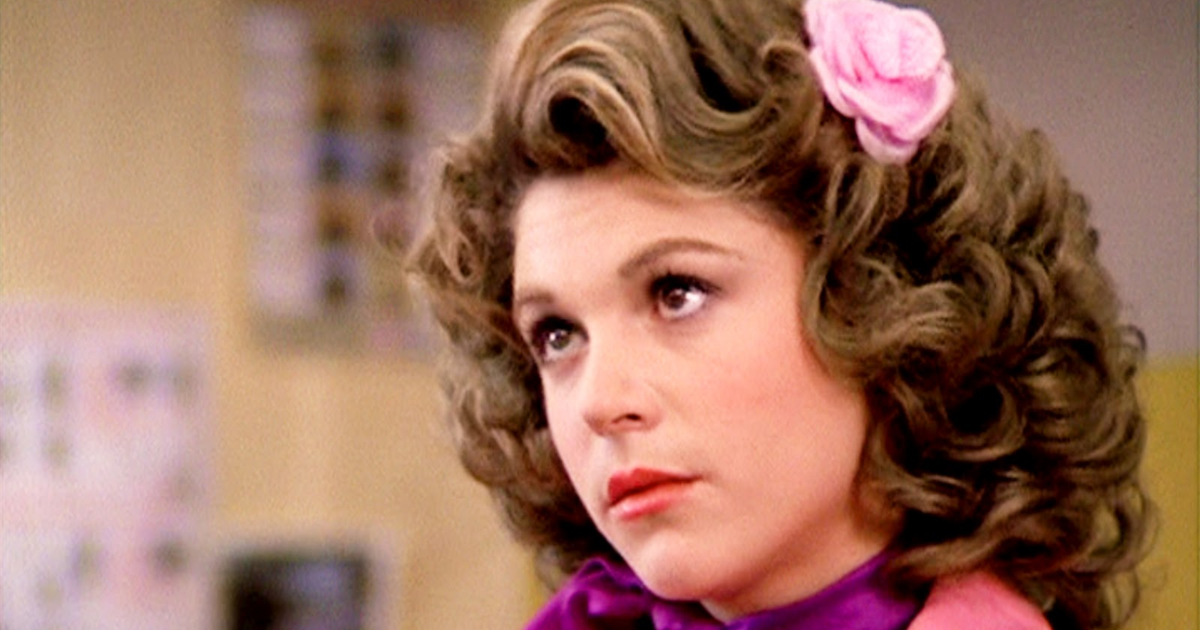 Marty looking up at someone with puppy eyes in Grease, grease, .