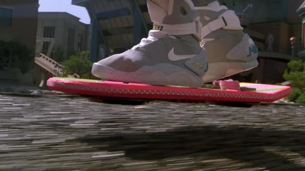 movies, back to the future II, hover board