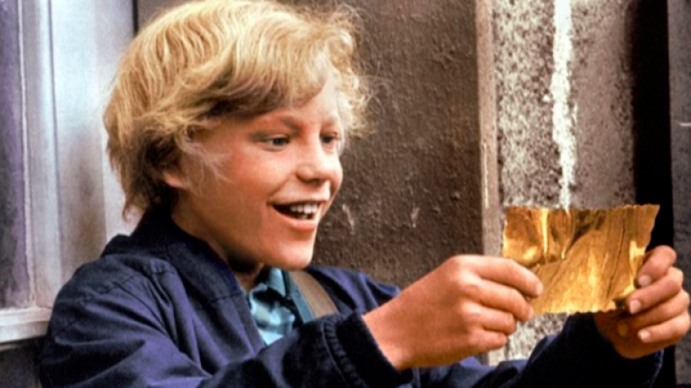 movies, Willy Wonka & the Chocolate Factory, golden ticket