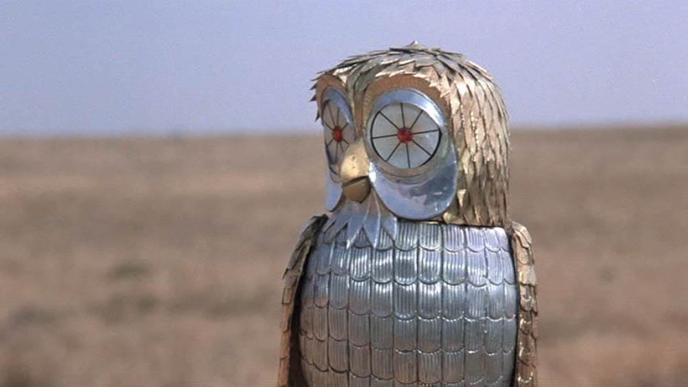 movies, clash of the titans, 1981, bubo the owl