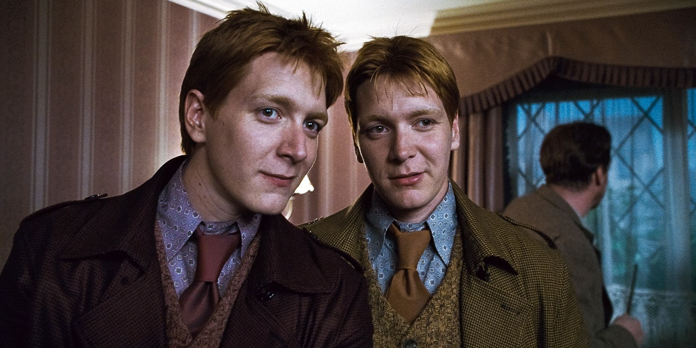 Weasley twins., pop culture, movies, books