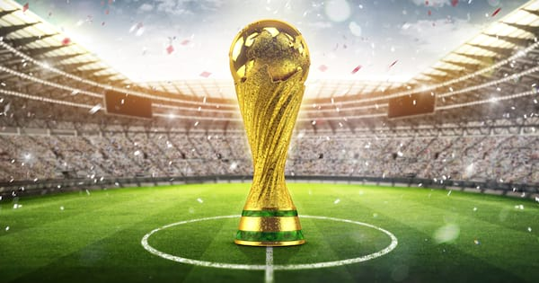 Animated World Cup trophy 2018