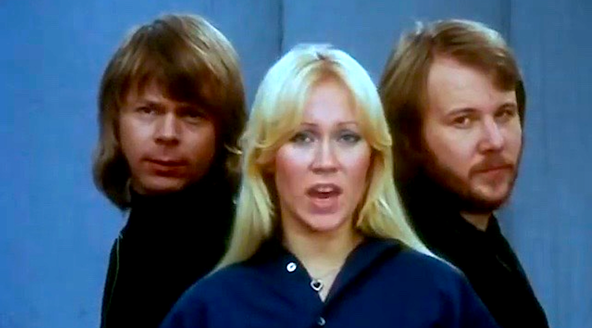 Music, 70s music, 1970s, ABBA, music video for knowing you knowing me