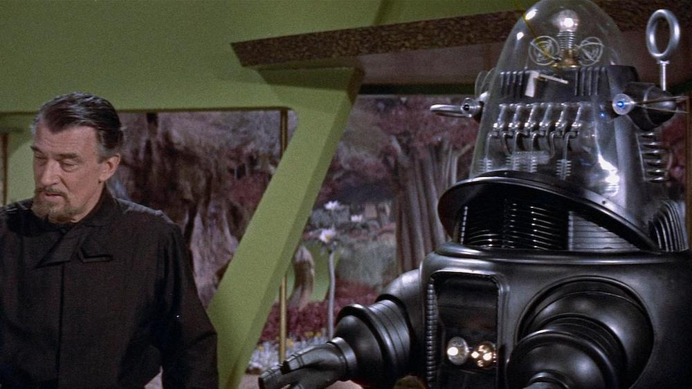 movies, forbidden planet, robby the robot