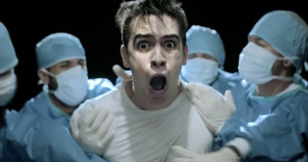 Panic at the Disco, instagram captions, lyrics, brendon urie, this is gospel music video, gasping for air, surprised
