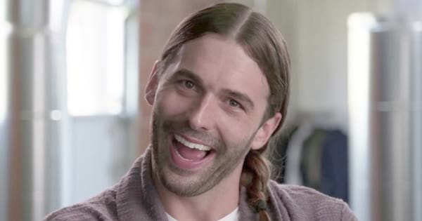 Jonathan Van Ness from Netflix's Queer Eye