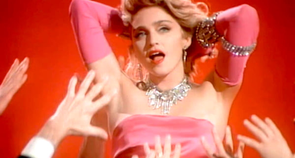 Music, celebs, madonna, material girl music video, 80s