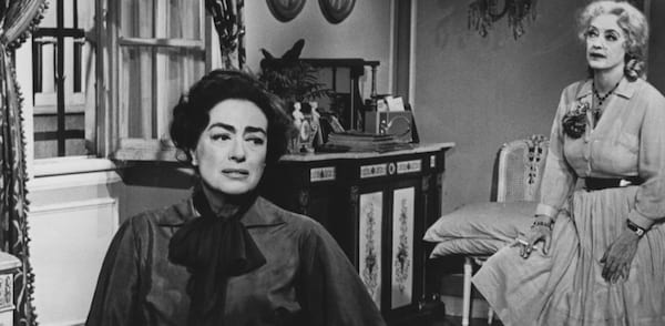 movies, whatever happened to baby jane?, Joan Crawford, Bette Davis