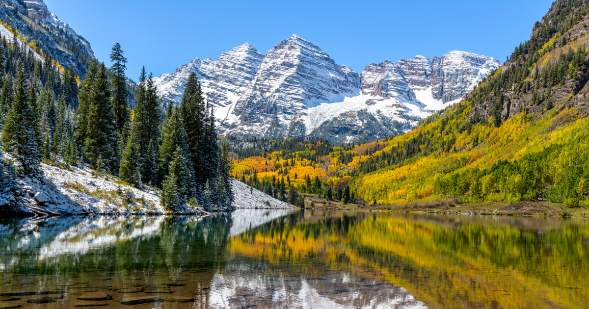 Scenic photograph of the Colorado Rockies