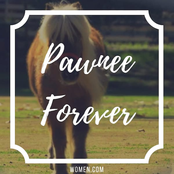 instagram captions, quotes, Parks and Rec, lil sebastian, pawnee forever