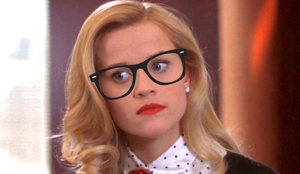 legally blonde, smart, quiz, hero, glasses, juju