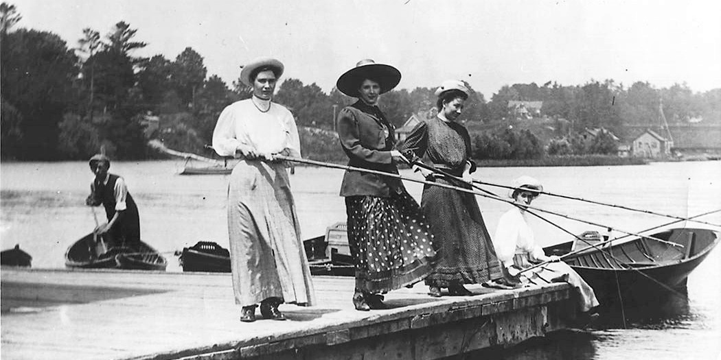 vintage fishing, science & tech, fitness, travel