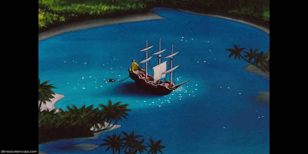 Captain Hook and The Jolly Roger - Peter Pan, movies