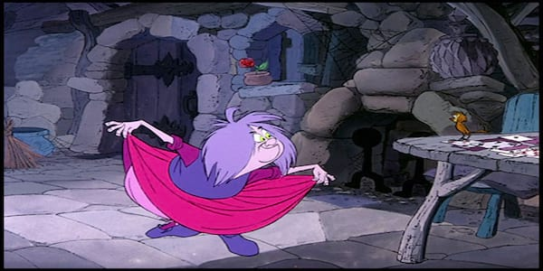 Madam Mim's Cottage - The Sword In The Stone, movies