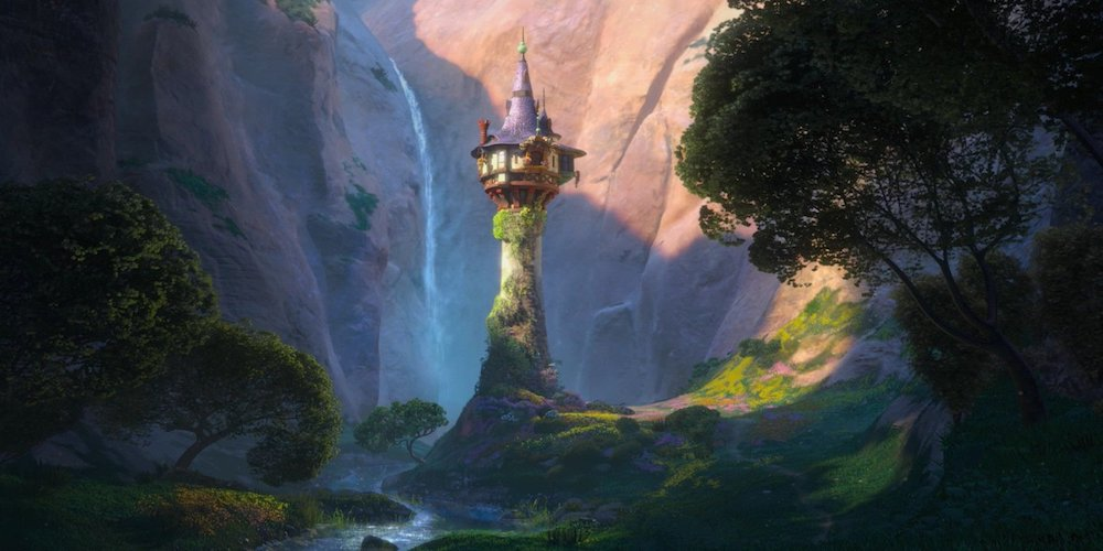 Mother Gothel Tower - Rapunzel - Tangled, movies