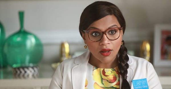 Mindy Kaling in The Mindy Project on Hulu