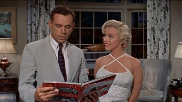 movies, celebs, the seven year itch, marilyn monroe, tom ewell