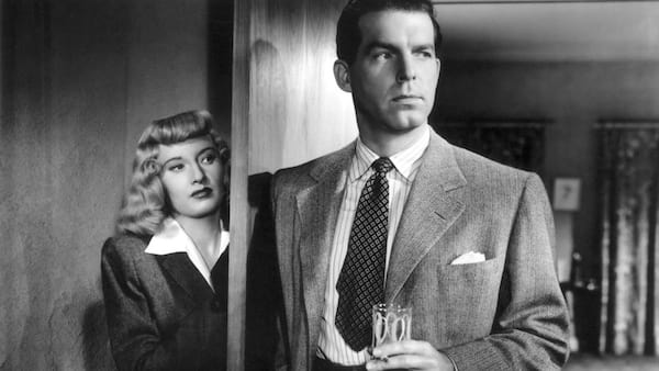 movies, celebs, double indemnity, fred macmurray, barbara stanwyck