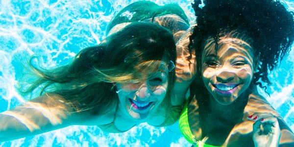 swimming instagram captions, science & tech, fitness