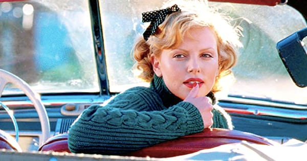 charlize theron, Cider House Rules, driving, history, American, car, drive, Maine, liz