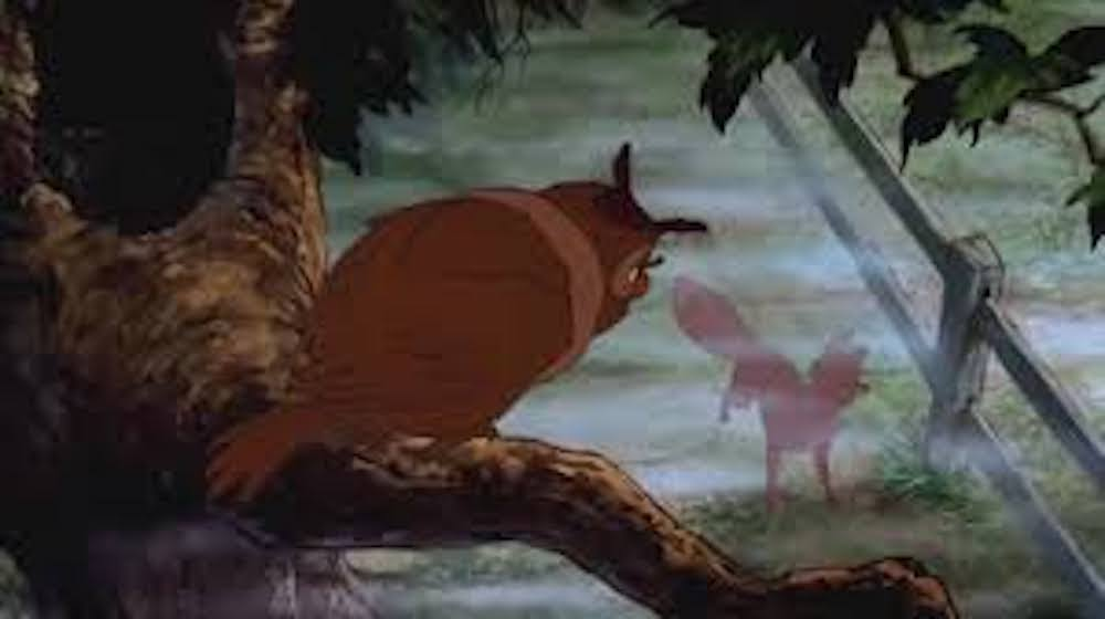 movies, Disney, the fox and the hound, opening scene